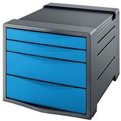 Pojemnik Vivida z 4 szufladami niebieski 623961 (4049793026718)