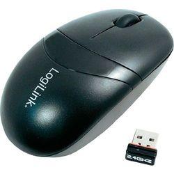 Mysz bezprzewodowa,  id0069, optyczny, 1000 dpi, radiowa, czarny marki Logilink