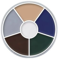 Kryolan CREAM COLOR CIRCLE (ZOMBIE) Kółko 6 kolorów farb Supracolor - ZOMBIE (1306) ()