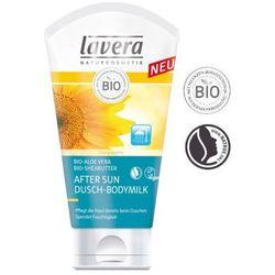 Mleczko do ciała po słońcu i pod prysznic z wyciągiem z bio-aloesu i masłem shea - 150 ml - Lavera (40214