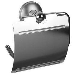 Uchwyt wc z klapką dakota 71350  marki Bisk