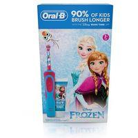 Szczoteczka do zębów ORAL-B D12 KIDS Frozen + pasta 75ml
