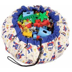 PLAY&GO Worek na zabawki/Mata do zabawy - Superhero (5901307150045)