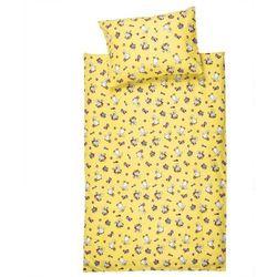 4home Juha pościel bawełniana do łóżeczka kaczuszki, 90 x 130 cm, 40 x 60 cm