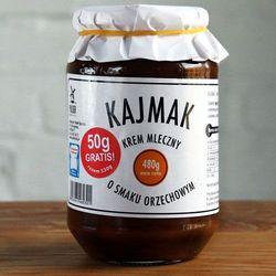 Kajmak Orzechowy 480 g z kategorii Masła orzechowe, kakaowe i inne