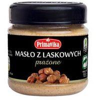 - masło z orzechów laskowych prażone 185g marki Primavika