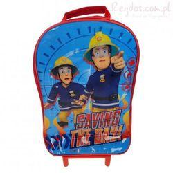 Plecak Strażak Sam walizka na kółkach Fireman Sam - produkt z kategorii- walizeczki