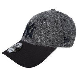 New Era 9FORTY Czapka z daszkiem mottled dark grey - produkt z kategorii- Nakrycia głowy i czapki