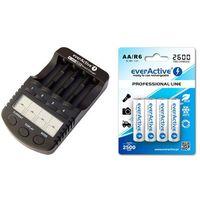 ładowarka everActive NC-1000 PLUS + 4 x R6/AA everActive 2600, kup u jednego z partnerów