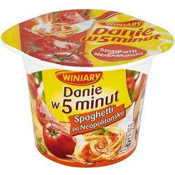 WINIARY 55g Danie w 5 Minut Spaghetti po neapolitańsku z kategorii Dania gotowe