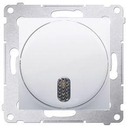 Dzwonek elektroniczny 8–12 v~ biały - ddt1.01/11 simon 54 premium marki Ospel