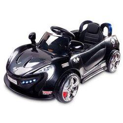 Caretero Toyz Samochód na akumulator dziecięcy Aero czarny black - oferta [45742674e7819646]