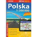 ExpressMap Polska atlas samochodowy 1:300 000, oprawa miękka