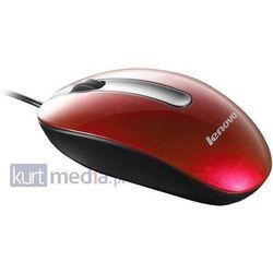 Lenovo M3803 (czerwony) z kategorii Myszy, trackballe i wskaźniki