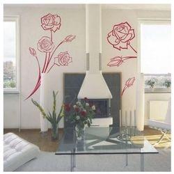 Kwiaty 76 szablon malarski marki Deco-strefa – dekoracje w dobrym stylu