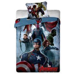 Jerry Fabrics Dziecięca pościel bawełniana Avengers 2015, 140 x 200 cm, 70 x 90 cm z kategorii Komplety pościeli dla dzieci