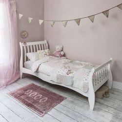 Łóżko drewniane białe 90x200 model 1001 marki Meblemwm