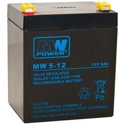 Akumulator żelowy 12V/5Ah MW Pb 90x70x101mm 6-9 z kategorii Pozostały układ elektryczny