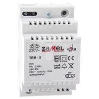 Transformator dzwonkowy 230V/8V AC TRM-8 EXT10000139 ZAMEL