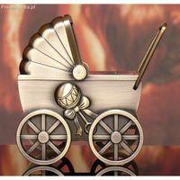 Skarbonka Wózek na chrzest roczek