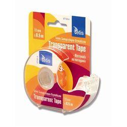 Taśma biurowa Tetis - 8 sztuk / 19 mm x 8,5 m / transparentna / podajnik / BT100-A - szczegóły w Sklep Internetowy A-T