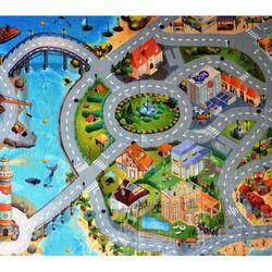 4home Dywan dla dzieci ultra soft miasto