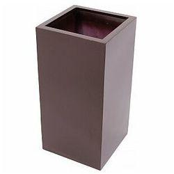 Europalms LEICHTSIN BOX-80, shiny-brown, Doniczka, 83011845
