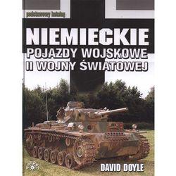 Niemieckie pojazdy wojskowe II wojny światowej, książka z kategorii Historia