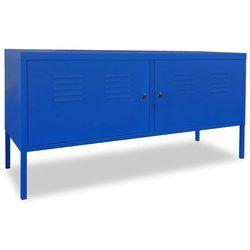 szafka pod telewizor, 118 x 40 60 cm, niebieska marki Vidaxl