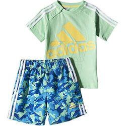 Komplet adidas Beach Summer Set Kids S17167 z kategorii Komplety odzieży dla dzieci