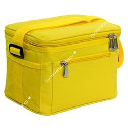 Termos z żelowym wkładem chłodzącym + 2 pojemniki na żywność | TESCOMA COOLBAG - odcienie żółtego i złota (8595028470772)