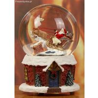 Pozytywka szklana kula Mikołaj