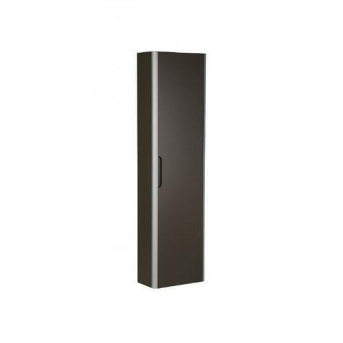 Dama-N Słupek łazienkowy wysoki 40,2x21,5x150 cm z 1 drzwiami i 4 półkami taupe A856956373, Roca