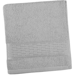 Ręcznik kąpielowy kamilka pasek szary, 70 x 140 cm marki Bellatex