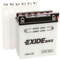 Akumulator motocyklowy  12n5-3b 5ah 40a marki Exide