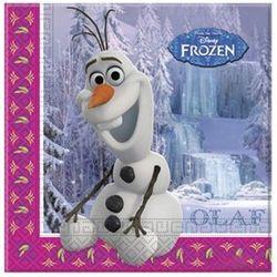 Serwetki urodzinowe Olaf - Frozen - Kraina Lodu - 33 cm - 20 szt. (5201184845097)