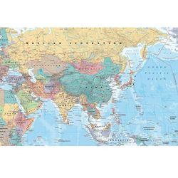 Azja i Bliski Wschód Mapa polityczna - plakat, gb