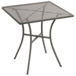 Ażurowy stolik ogrodowy | kwadratowy | różne kolory | 700x700x(h)710mm wyprodukowany przez Bolero