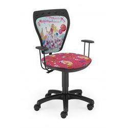 krzesło dziecięce Ministyle Barbie Poziomka BL