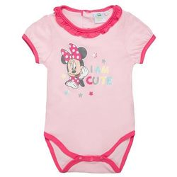 Disney MINNIE Body orchid pink z kategorii body niemowlęce