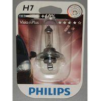 Philips Żarówka h7  12v vision plus +60% 12972vp b1 !odbiór osobisty kraków! lub wysyłka, kategoria: żar