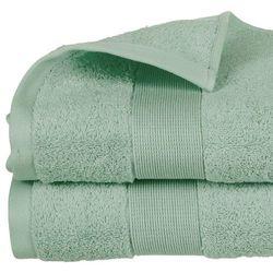 Atmosphera Ręcznik łazienkowy z miękkiej i chłonnej bio-bawełny w pięknym odcieniu seledynu - 150 x 100 cm (3560238359815)