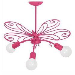 Lampa wisząca dziecięca motyl 3xe27/60w marki Luminex