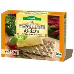 Pieczywo chrupkie amarantusowe bio 250g -  wyprodukowany przez Allos