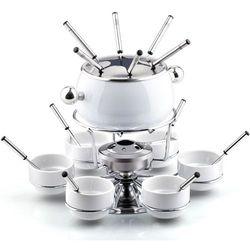 Zestaw fondue  lt7007 biały marki Lamart