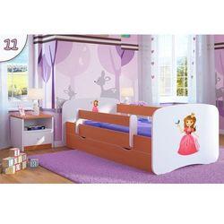 Łóżko dziecięce babydreams królewna kolory, promocja spokojny sen marki Kocot-meble