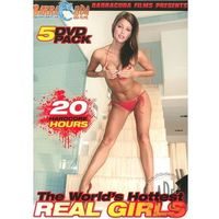 THE WORLD'S HOTTEST REAL GIRLS 5 DVD PACK