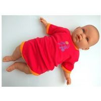 Pippi Body niemowlęce małpka ciemna malina rozmiar 104