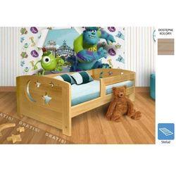 łóżko dziecięce gwiazdeczki 90 x 180 marki Frankhauer