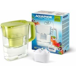 Aquaphor Dzbanek Kompakt 2,4 l + wkład B100-25 Maxfor (kolor limonkowy)